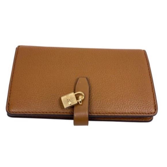9f5a4bf599ad Michael Kors Luggage Adele Slim Bifold Wallet